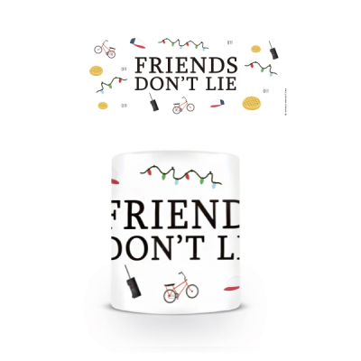 Taza Friends Don't Lie - Double Project