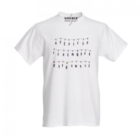 Camiseta luces y Abecedario - Double Project