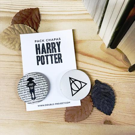 Pack Chapas Harry Potter 4 - Double Project