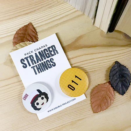 Pack Chapas Stranger Things modelo 2 - Double Project