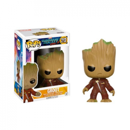 POP Young Groot in Suit Angry - Double Project