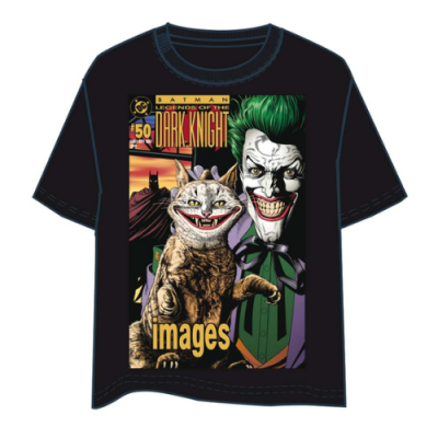 Camiseta Joker Dark Knight Comic - Double Project