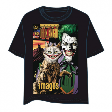 Camiseta Joker Dark Knight Comic - Double Project
