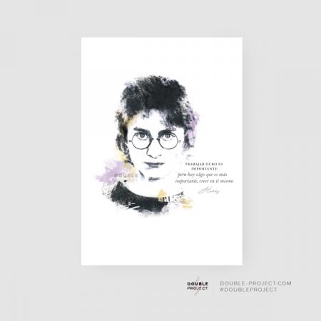 Lámina Harry Potter Frase | Double Project