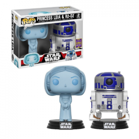 Set POP Leia y R2D2 Star Wars - DOuble Project