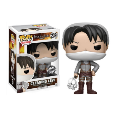 POP Cleaning Levi Attack on Titan - Double Project