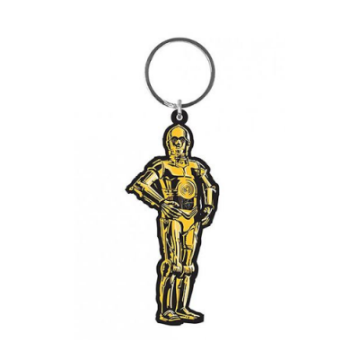 Llavero C3PO Caucho Star Wars - Double Project