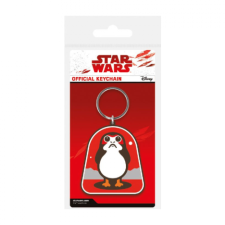 llavero Porg Caucho Star Wars - Double Project