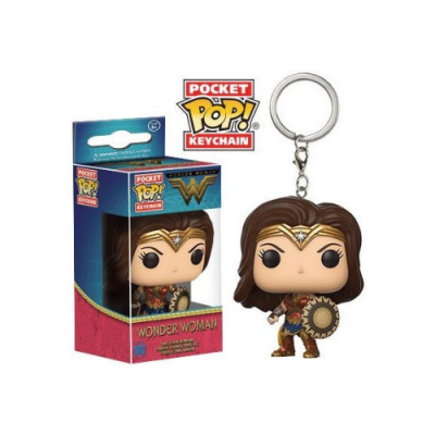 Llavero Pocket POP Wonder Woman - Double Project