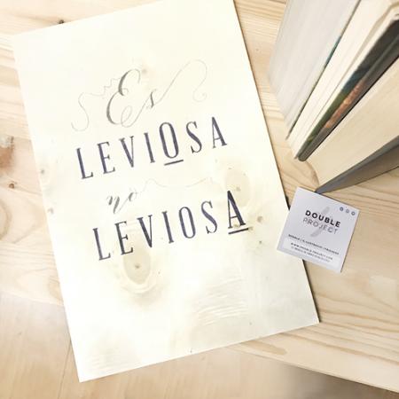 Lámina Madera Leviosa - Double Project