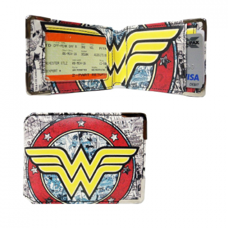 Monedero Carterita carné Wonder Woman - Double Project
