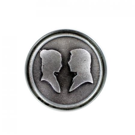 Pin Star Wars Han Solo & Leia Chapa Clicks - Double Project