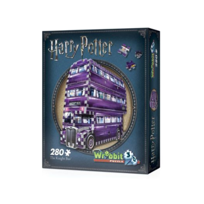 Harry Potter Puzzle 3D The Knight Bus Autobus Noctámbulo - Double Project