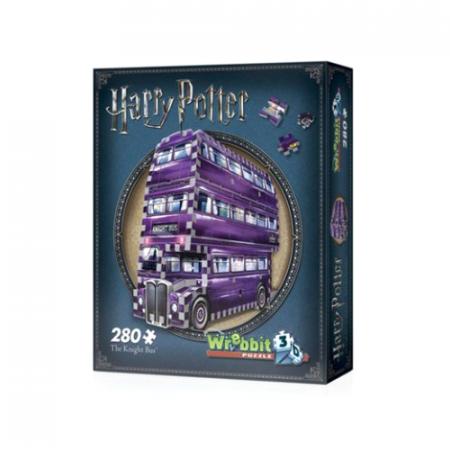 Harry Potter Puzzle 3D The Knight Bus Autobus Noctámbulo - Double Project