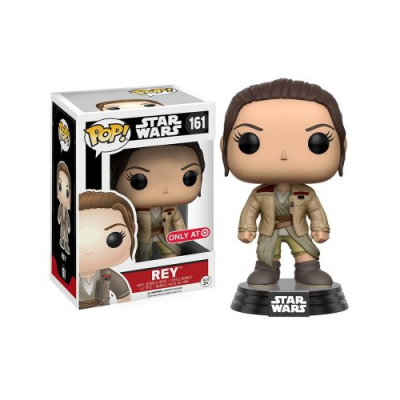 POP Rey con la chaqueta de Finn Star Wars - Double Project