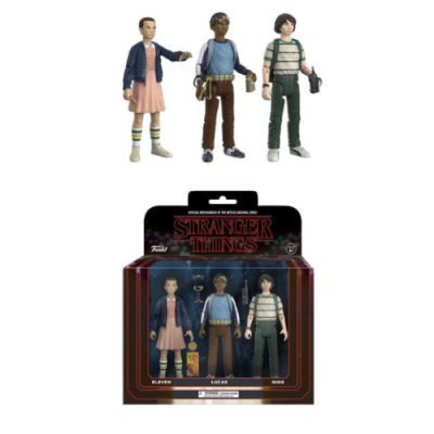 Set figuras Stranger Things - Double Project