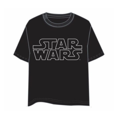Camiseta Star Wars logo contorno - Double Project