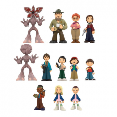 Stranger Things Mini figuras Mistery- Double Project