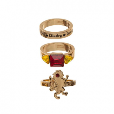Harry Potter Set de 3 Anillos Gryffindor - Double Project