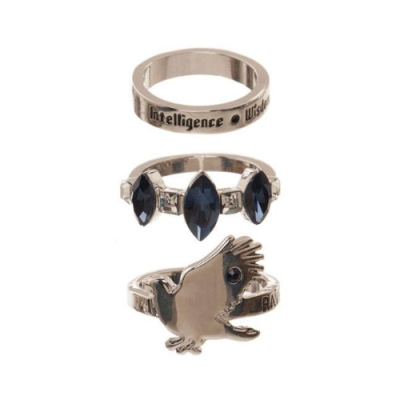 Harry Potter Set de 3 Anillos Ravenclaw - Double Project