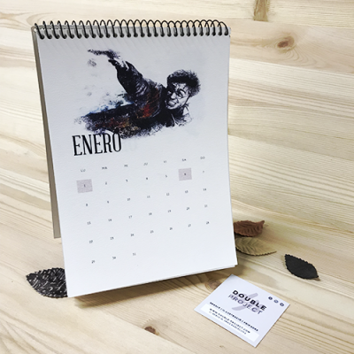 Calendario 2018 Harry Potter Handmade - Double Projectº
