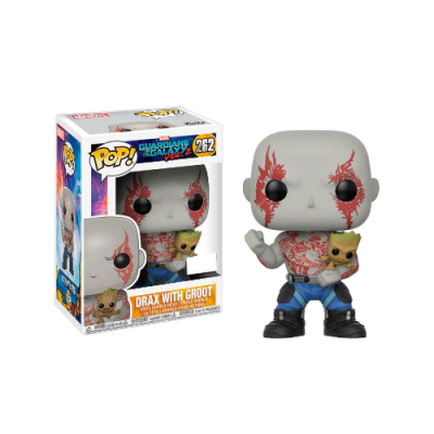 POP Guardianes de la Galaxia Drax con Groot - Double Project