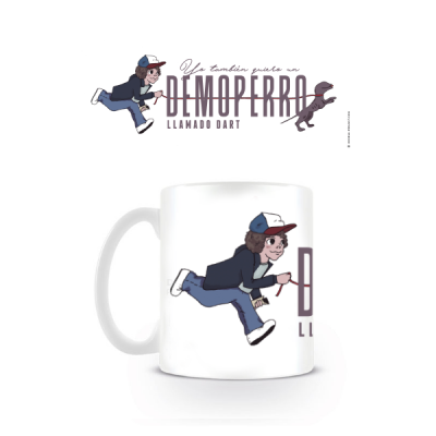 Taza Un Demoperro llamado Dart - Double Project