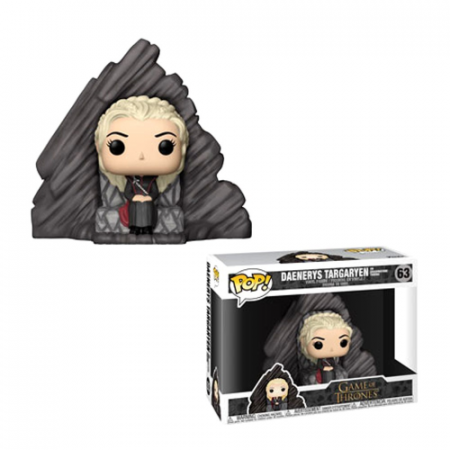 POP Daenerys on Dragonstone Throne - Double Project