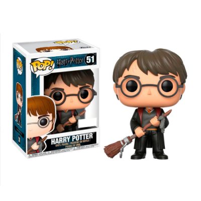 POP Harry Potter with Firebolt Exclusive - Double Project
