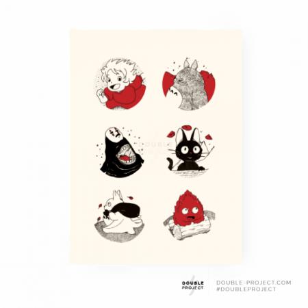 Lámina textura Ghibli - Double Project
