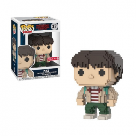 POP Mike 8Bit Stranger Things - Double Project