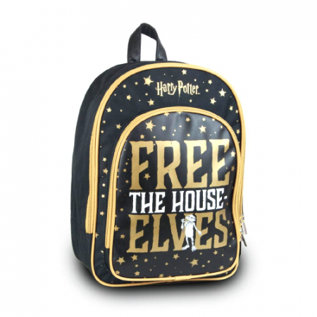 Mochila Free the House Elves Dobby - Double Project