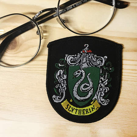 Parche Slytherin Harry Potter - DOuble Project