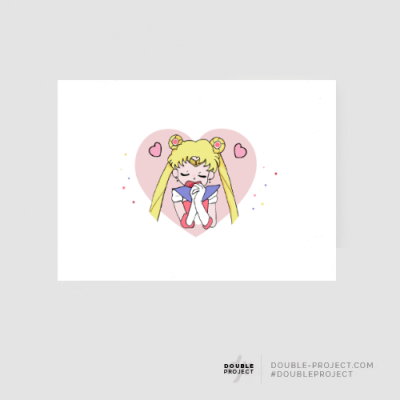 Lámina Sailor Moon Love - Double Project