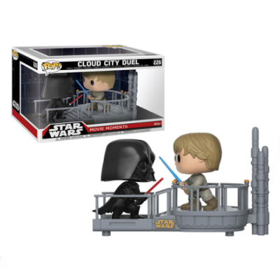 POP Cloud City Duel Star Wars Movie Moments - Double Project