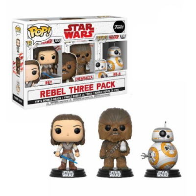 POP Pack de 3 Figuras Rebel - Double Project