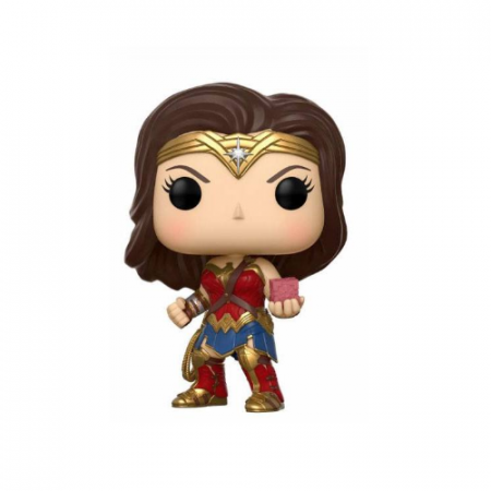 POP Wonder Woman con La caja madre - Double Project