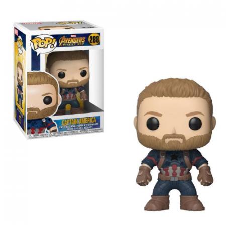 POP Marvel Capitán América Avengers - Double Project