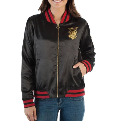 Harry Potter Chaqueta Bomber Chica Hogwarts | Double Project