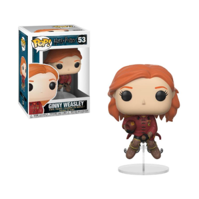 POP Ginny on Broom Harry Potter - Double Project