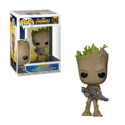 POP Groot Avengers Infinity War - Double Project