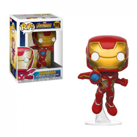 POP Marvel Iron Man Avengers - Double Project