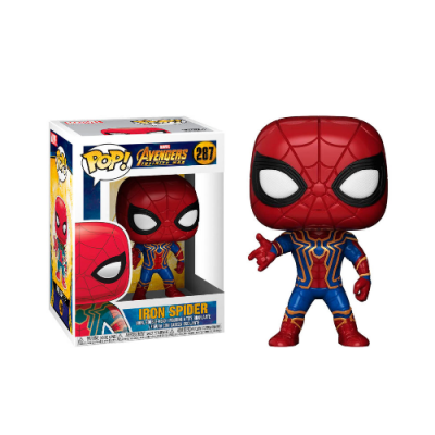 POP Marvel Iron Spider Avengers Infinity War - Double Project
