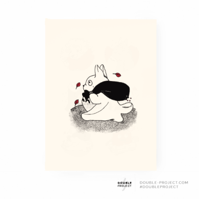 Lámina Totoro colección | Double Project