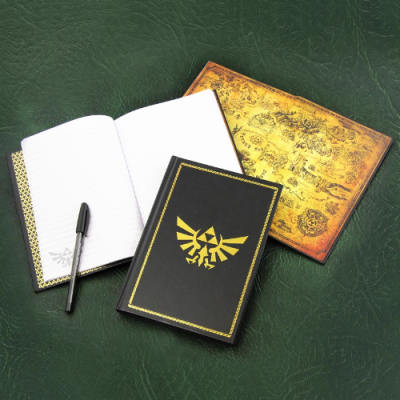 Libreta Zelda Hyrule Wingcrest Legend of Zelda | Double Project