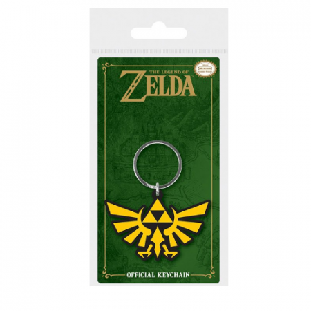 Llavero Caucho Triforce Zelda | Double Project