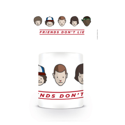 Taza Friends don't Lie Squad - Double Project