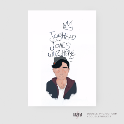 Lámina Jughead wuz here | Double Project