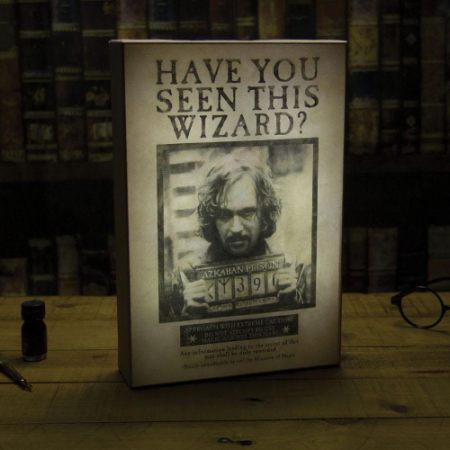 Lámpara Luminart Sirius Harry Potter | Double Project