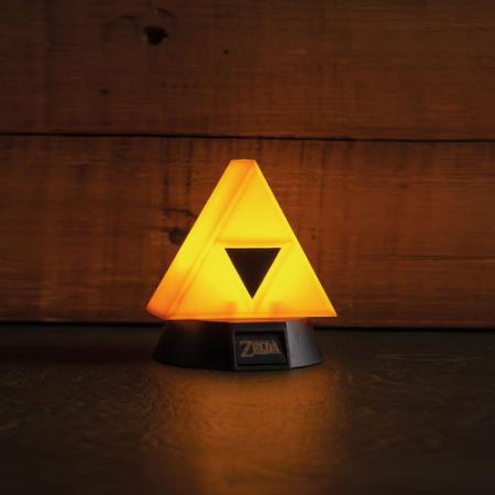Legend of Zelda Lámpara Triforce - Double Project